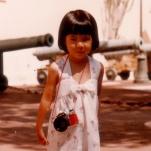 A vintage traveling Tanya in Monaco